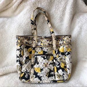 Vera Bradley Yellow Floral Laptop Case Bag
